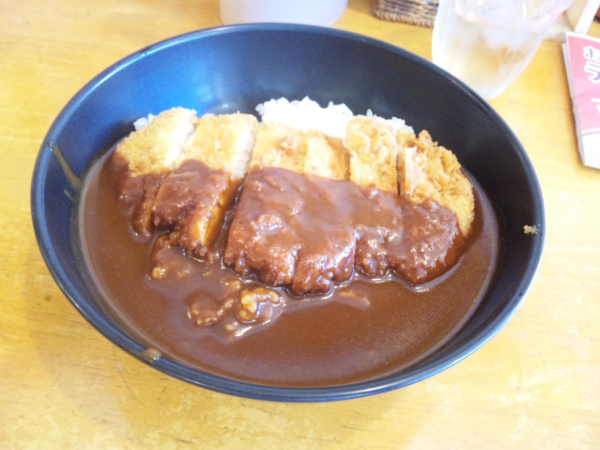 岡山デミカツ丼(めんたいチーズ)